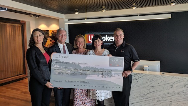 LJ Hooker Gold Coast score hole in one for Cystic Fibrosis Queensland